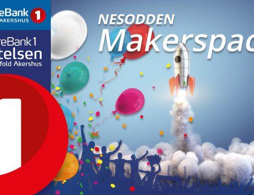 Sparebank 1 støtter Nesodden Makerspace!
